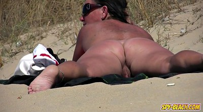 Beach, Nudist, Nudism, Voyeur beach, Public beach, Fat amateur