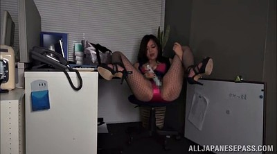 Heels, High heels, High, Asian pantyhose, High heels solo