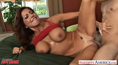 Riding mom, Sucking tits, Outdoor mature