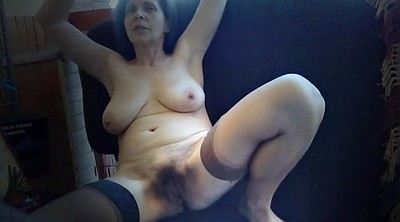 Flashing, Hairy mature, Saggy, Saggy tits, Exhibitionist, Balcony