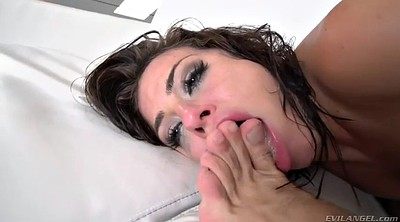 Orgasm, Close, Swallowed, Orgasm squirting, Adriana, Adriana chechik