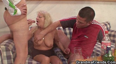 Party sex, Mature threesome