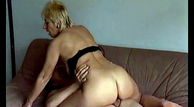 Mom, First anal, Mom anal, German mature