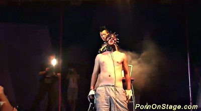 Stage, On stage, Extreme bdsm, Public show