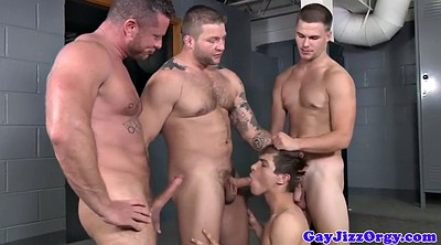 Orgy, Muscle, Fat cock
