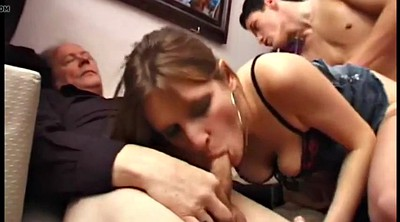 Threesome, Anal french, French amateur