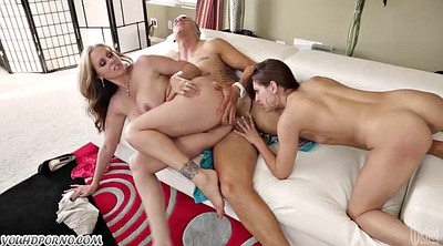 Julia ann, Horny matures, Group