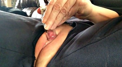 Pump, Pumping, Pussy pump, Puffy, Mature orgasm, Mature clit