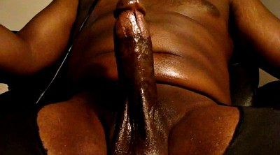 Thick cock, Oily