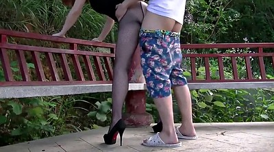 Chinese wife, Chinese fuck, Chinese outdoor, Chinese public, Public nudity, Fuck chinese