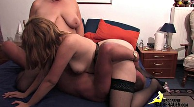 Old cumshot, Mature threesome, German mature