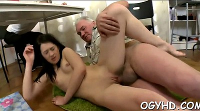 Russian granny, Licking pussy, Granny pussy