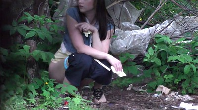 Piss, Forest, Pissing teen, Piss in, Outdoor peeing