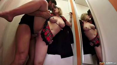Glasses, Spanish, Spanish milf, Toss, Fitting room, Pov latina