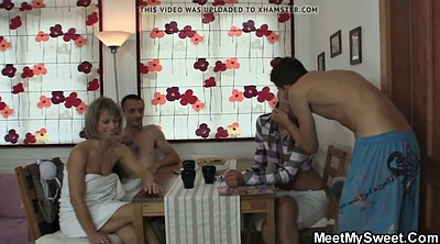 Mom, Moms teach, Mature young, Mature threesome