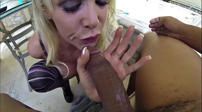 Deep throat bbc, Blond bbc