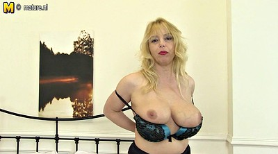 Mature, Breast, British milf, Breasting