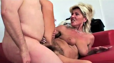 Mature hairy, German mom, Squirting mature, Hairy mom, German squirt