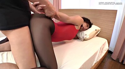 Nylon, Japanese foot, Japanese pantyhose, Japanese black, Black and japanese, Pantyhose foot