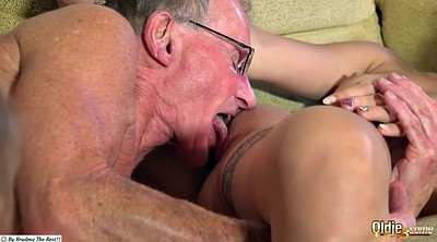Young, Granny masturbating