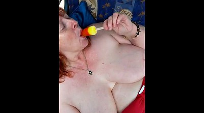 British mature, Amateur mature, Sun, Ice