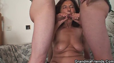 Wife threesome, Mature and young