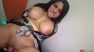 Curvy, Changing, Change, Latina doggy fucking brunette