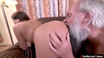 Young and old, Teen ass, Lick ass