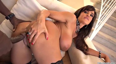 Lisa ann, Ann, Interracial anal creampie