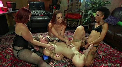 Fist, Double fisting, Double fist, Mona wales, Femdom group, Bdsm fist
