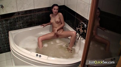 Solo orgasm, Bath