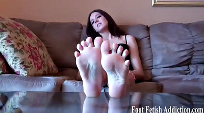 Foot fetish worship