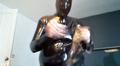Mask, Wank, Latex mask, Latex fetish, Catsuit