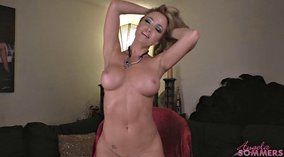 Angela, Undress, Undressing, Jerk off