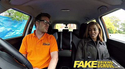 Taxi, School, Fake taxi, Black teen