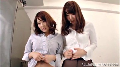 Ffm, Pantyhose blowjob, Pantyhose asian, Ffm threesome