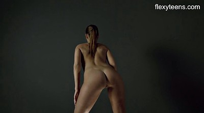 Flexible, Nude yoga, Nude show