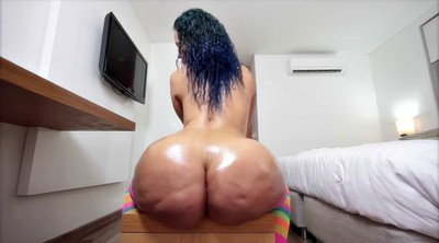 Mature solo, Big ass solo, Oiled