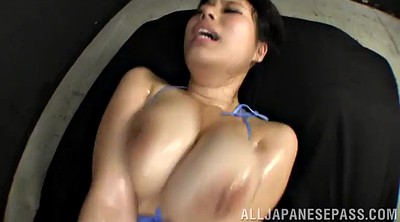 Hairy pussy orgasm, Chubby asian