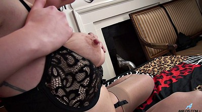 Stocking, Milf hairy solo