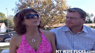 Watching, Wife cuckold, Wife watches, Wife stranger