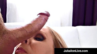 Julia, Julia ann, Mature handjob, Beautiful mature