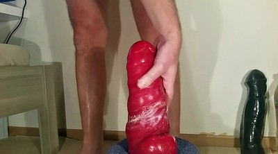 Gay fisting, Red, Gay dildo, Fisting gay