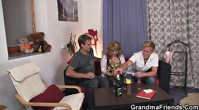 Old and young, Riding mature, Pick up milf, Mature threesome, Hot granny, Giving head