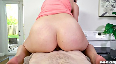 Teen ride, Reverse cowgirl pov