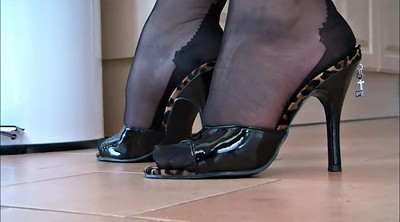 Nylon, Nylon foot, Footing