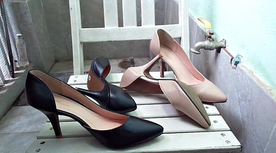 High, Shoe, Shoes, High-heeled shoes, Cum shoes
