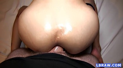 Asian ass, Real creampie