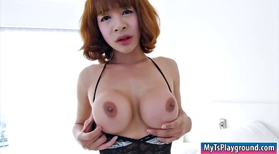 Asian masturbate, Asian shemale