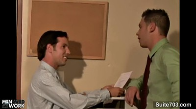Gay anal, Naughty office, Gay office, At work